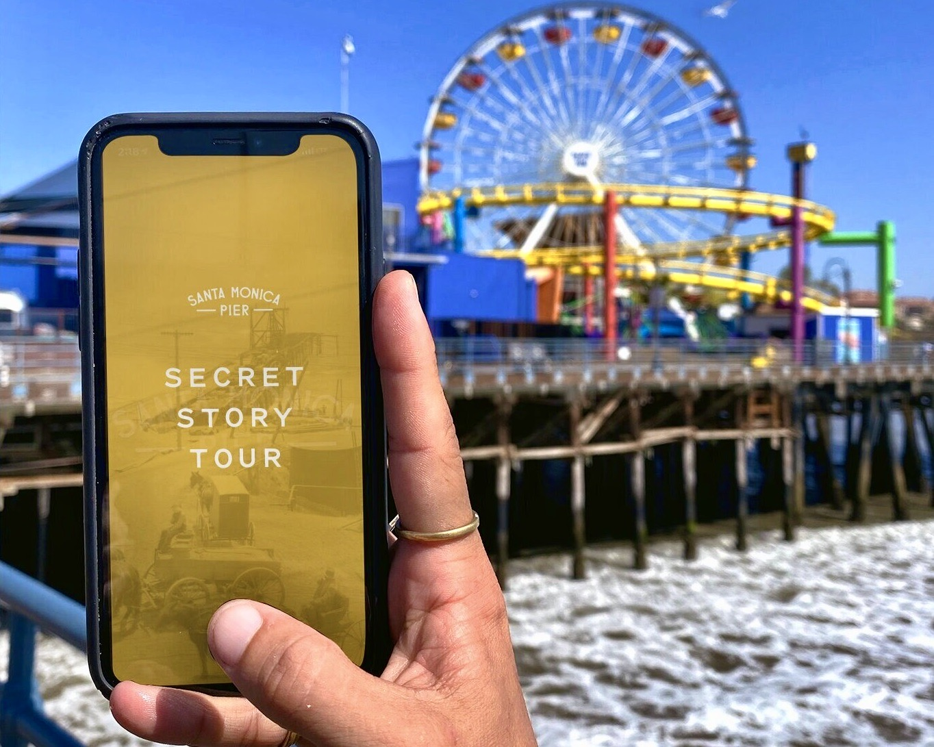 Santa Monica Pier Secret Story Tour