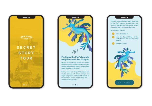 Santa Monica Pier Secret Story Tour mobile app