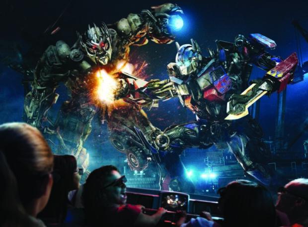 Transformers, Universal Orlando Resort