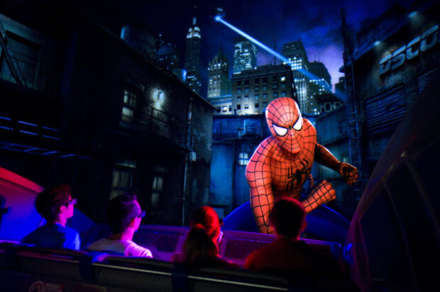 Top 25 theme park attractions in the world, The Amazing Adventures of Spider-Man, Universal Orlando Resort