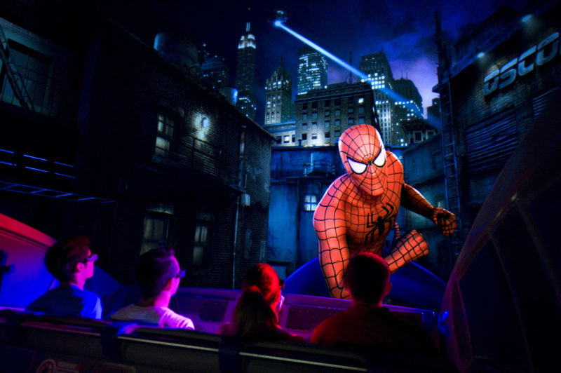 Top 25 theme park attractions in the world, The Adventures of Spider-Man, Universal Orlando Resort, Universal's Islands of Adventure