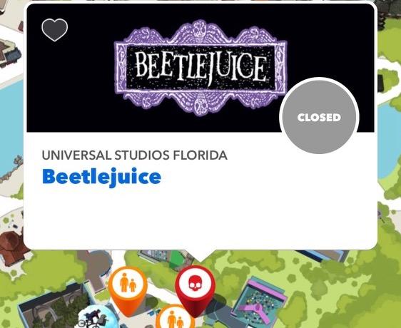 beetlejuice haunted house