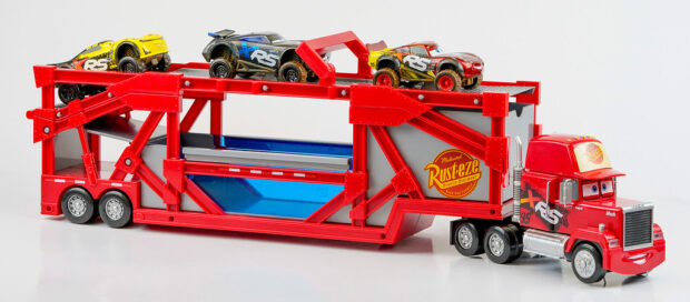 """Cars"" Mack truck, Lightning McQueen and friends toy set"