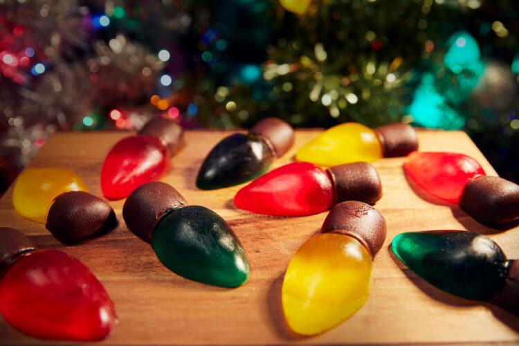 christmas lights gummies