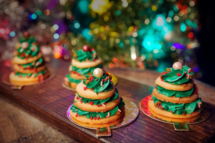 christmas tree stacks