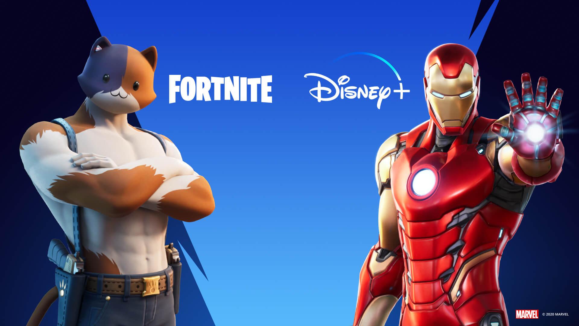Fortnite Disney+ Offer