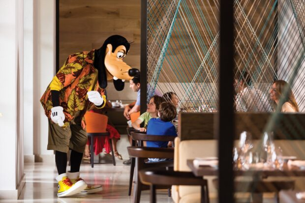 good morning breakfast with goofy and his pals