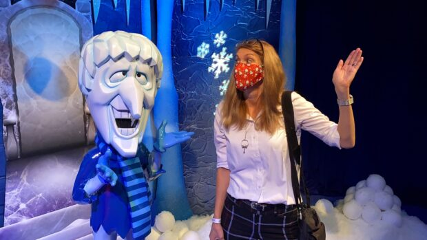 Freeze Miser in I Love Christmas Movies.