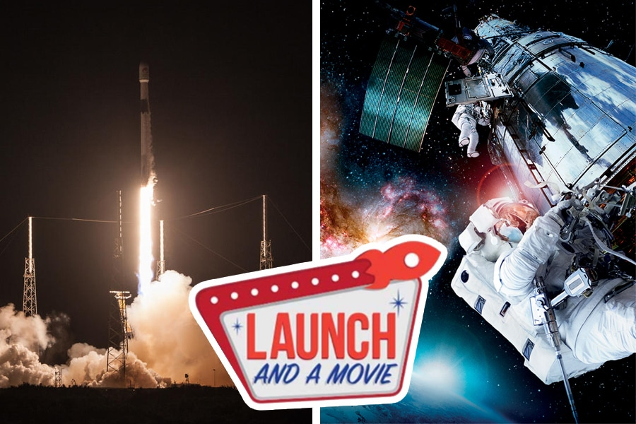 Kennedy Space Center Launch and a Movie