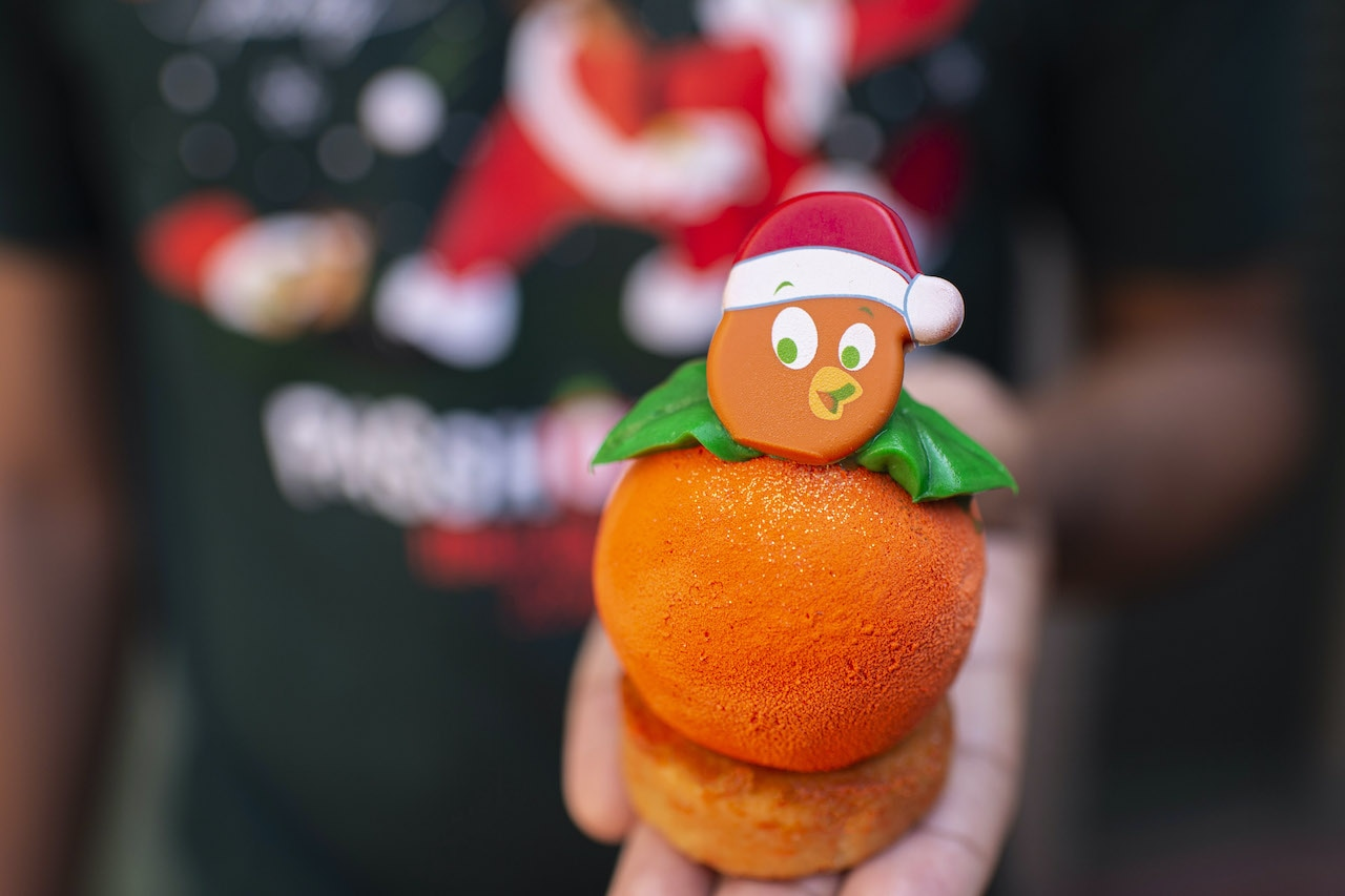 Magic Kingdom Holiday Foods, An Orange Bird Christmas