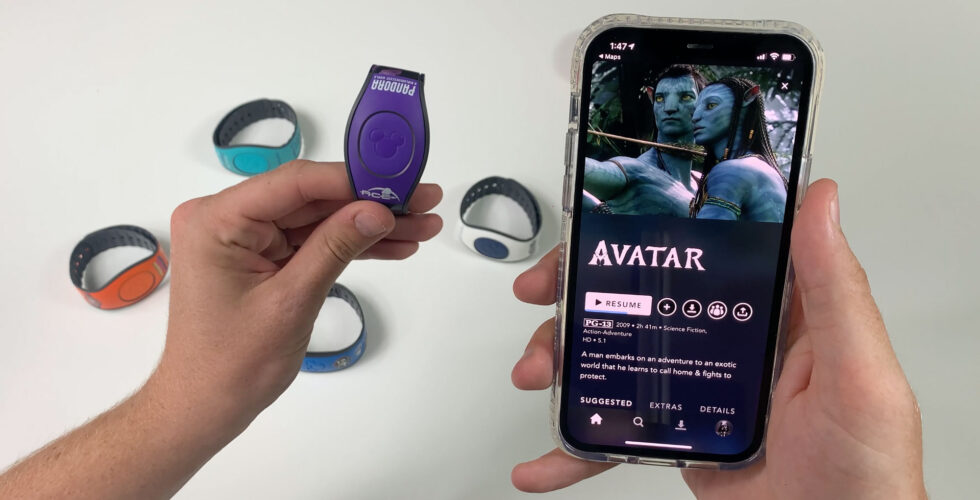 Pandora Magicband controls iPhone.
