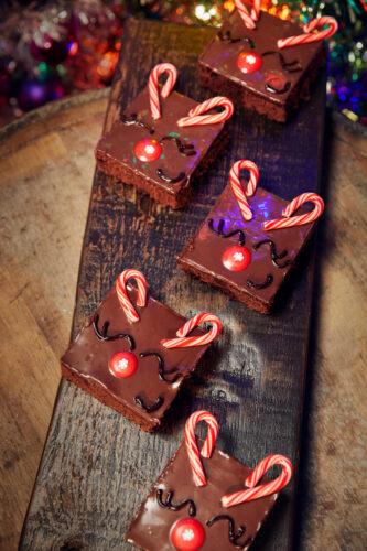 reindeer brownie