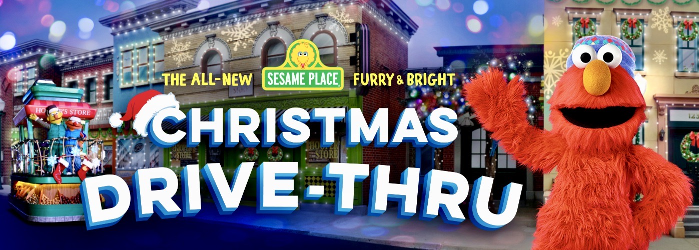 Sesame Place Furry & Bright Christmas Drive-Thru