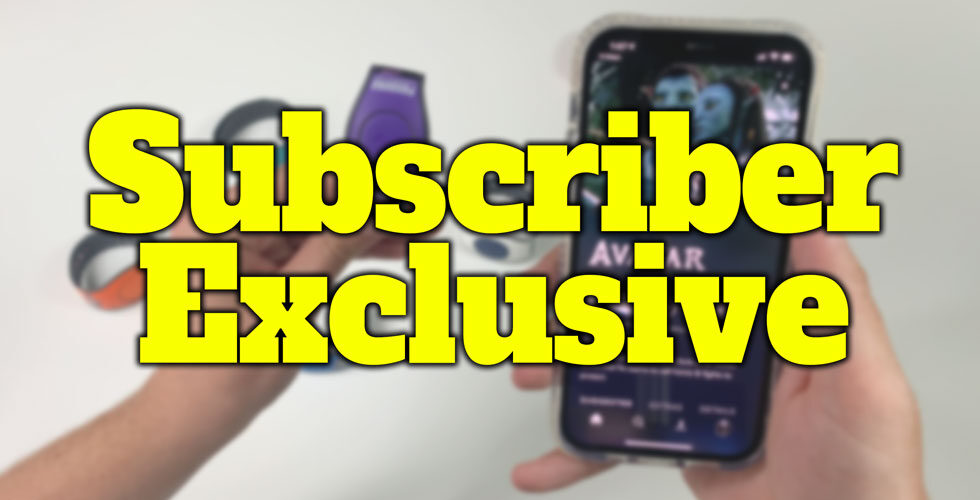 subscriber exclusive iphone and magicband