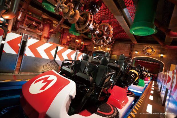 Mario Kart ride vehicles