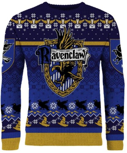 new merchoid harry potter ugly xmas sweater