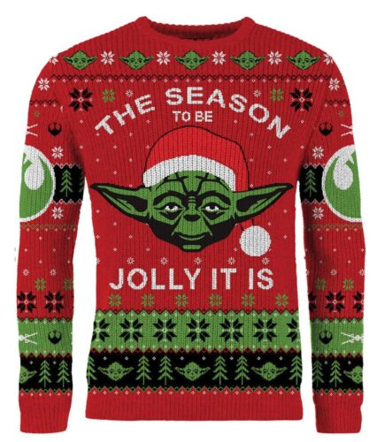 new merchoid star wars ugly xmas sweater
