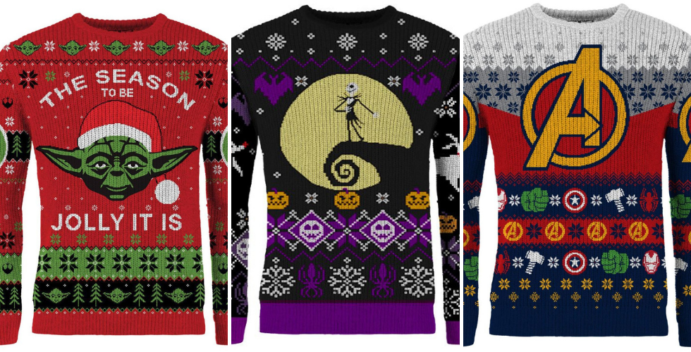 Pop Culture Christmas Sweater 2020 These pop culture ugly Christmas sweaters will get you in the