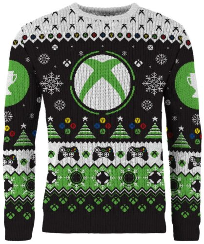 new merchoid gamer ugly xmas sweater