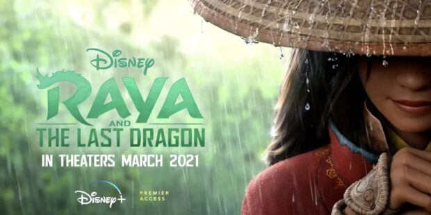 Walt Disney Animation Studios, Raya and the Last Dragon, Disney+