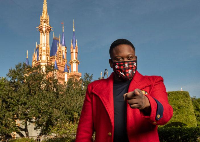 Disney Parks Magical Christmas Celebration, Tituss Burgess, Julianne Hough