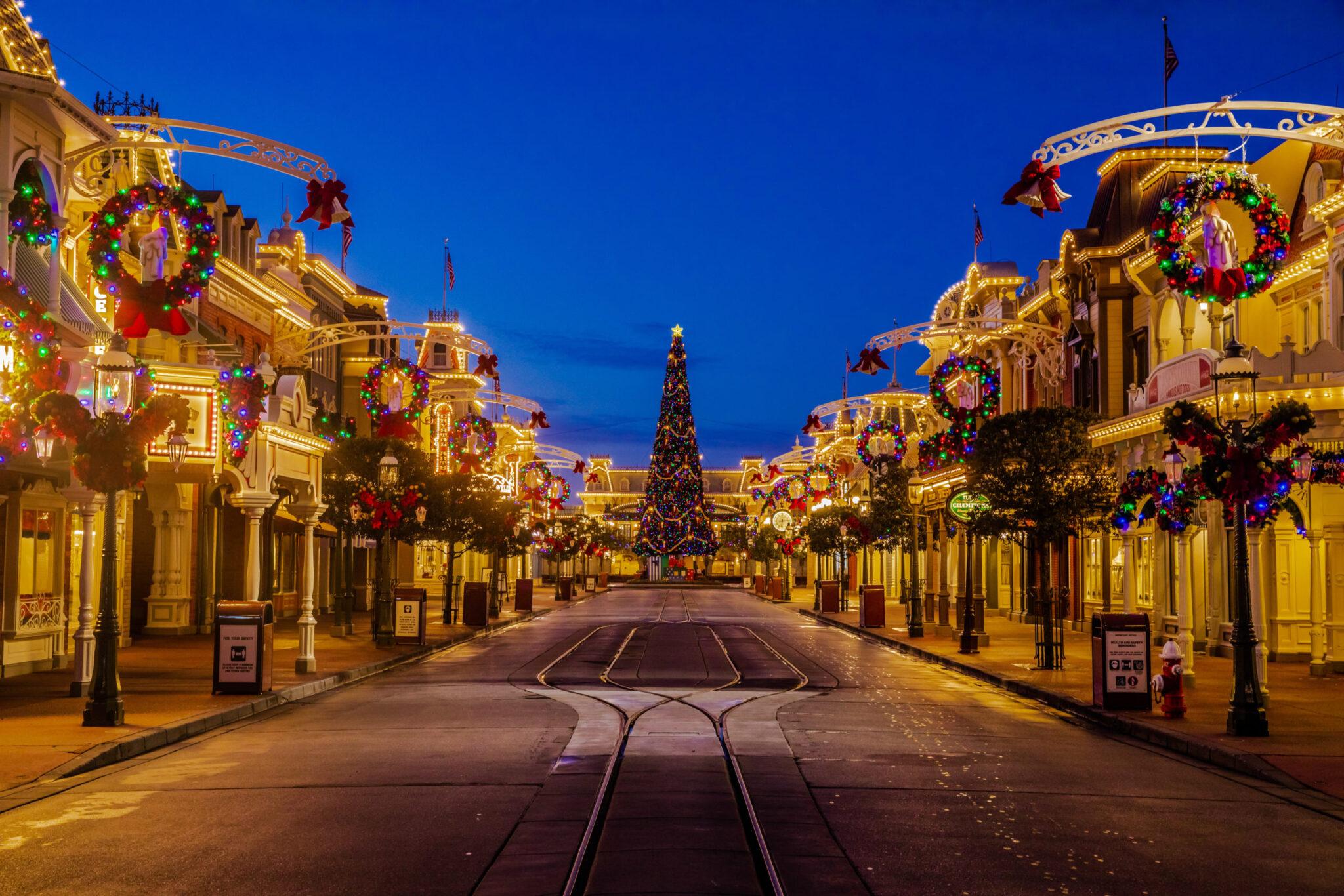 Disney Parks Magical Christmas Celbration, Walt Disney World Christmas