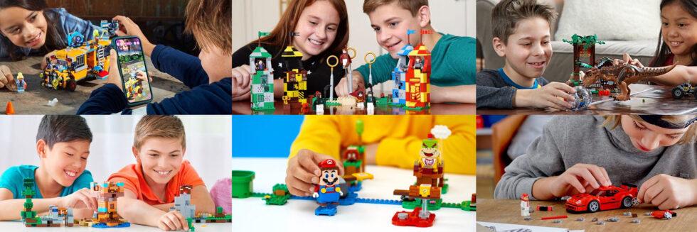 Lego licensed properties.
