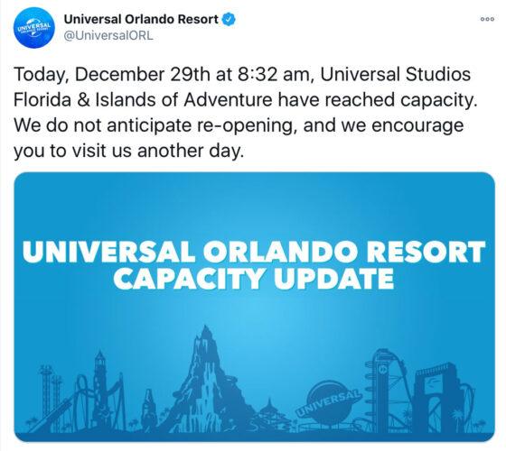 Universal Capacity Tweet
