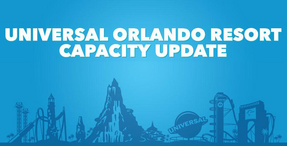 Universal Orlando reaches park capacity