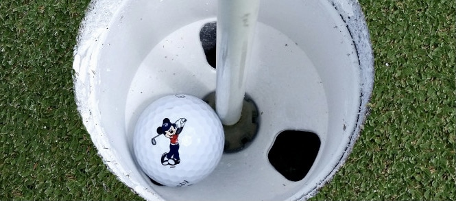 Walt Disney World Golf Hole-In-One Club