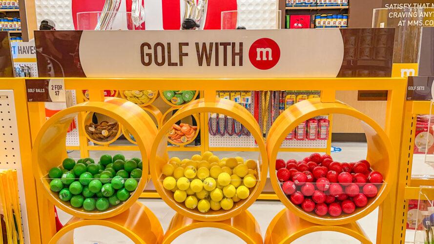 M&M'S Disney Springs golf balls