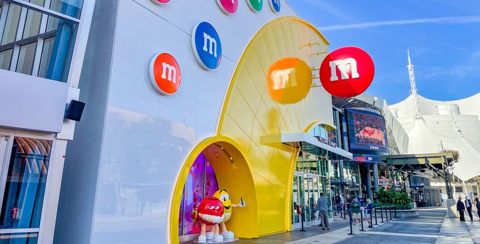M&M store at Disney Springs