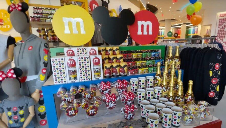 M&M'S Disney Springs merchandise
