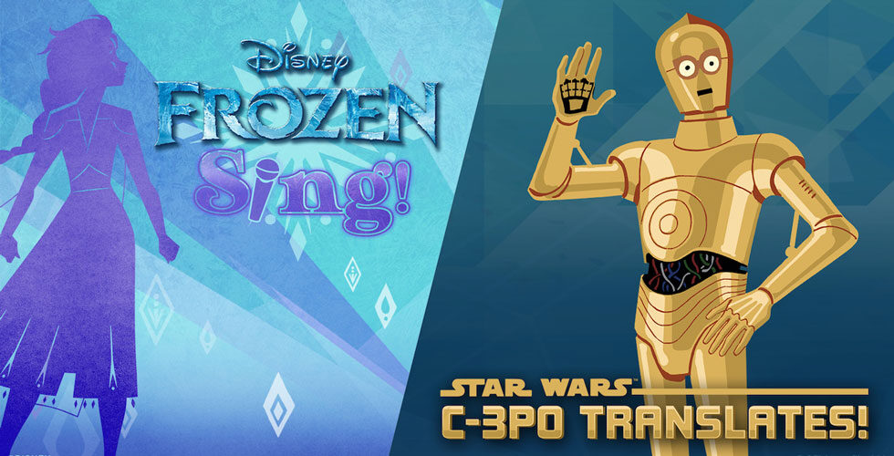 Frozen and Star Wars Alexa Skills