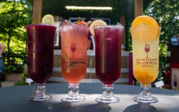 Busch Gardens Food & Wine Festival Cocktails