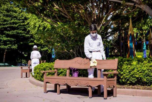 Hong Kong Disneyland enhanced health and safety protocols
