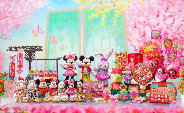 Lunar New Year Hong Kong Disneyland collection