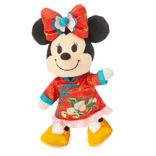 Lunar New Year, Mickey and Minnie poseable nuiMos plush