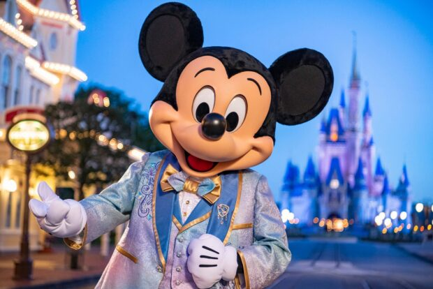 Mickey's anniversary outfit