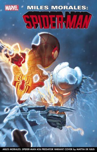 Marvel Comics Predator variant covers