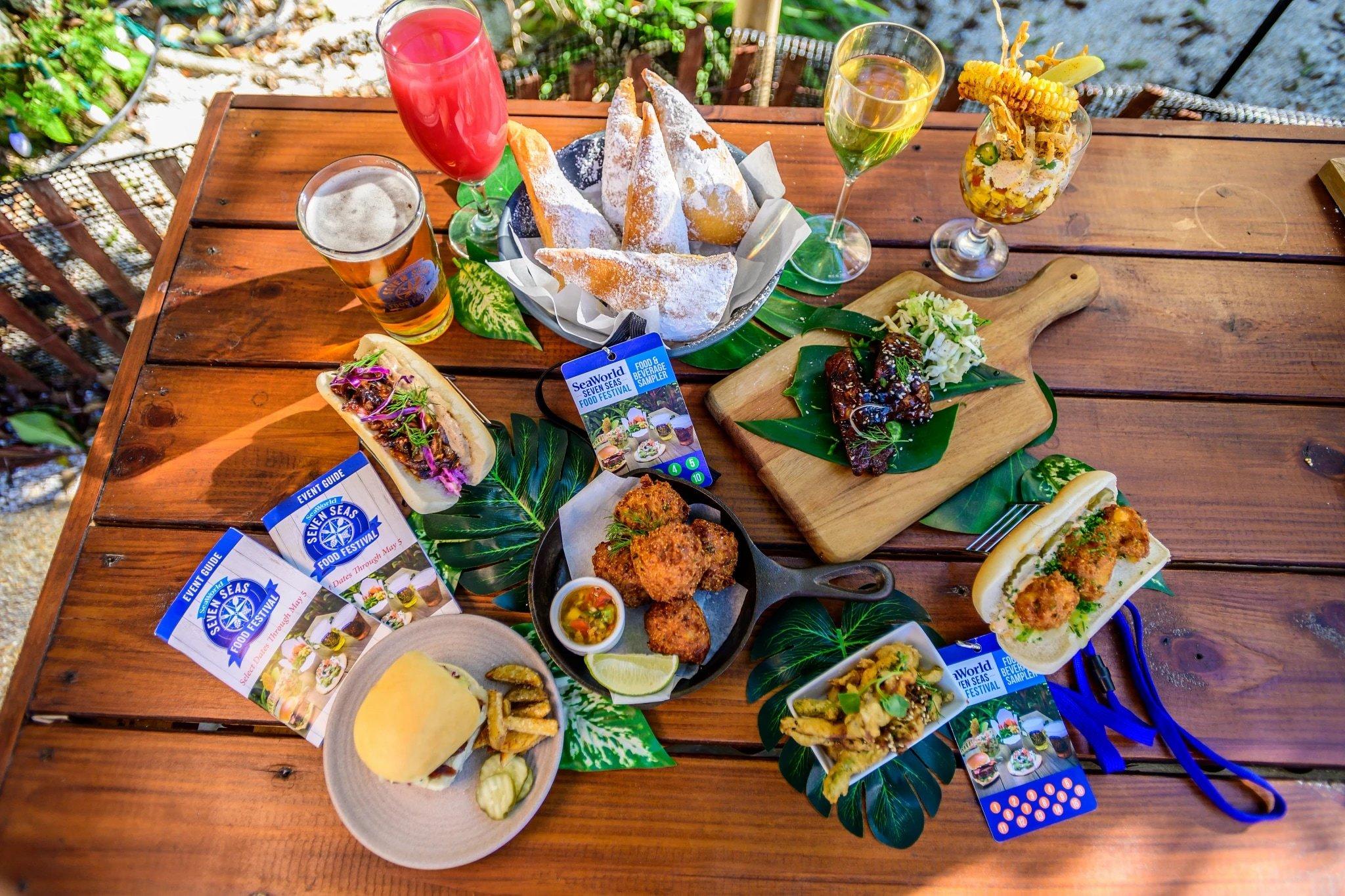 Seven Seas Food Festival, SeaWorld San Diego