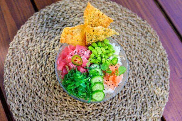 Seven Seas Food Festival Poke