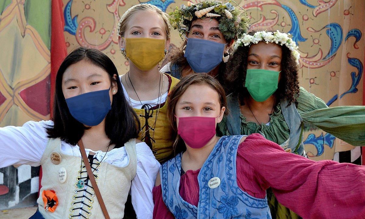 Six Flags Discovery Kingdom Renaissance Days