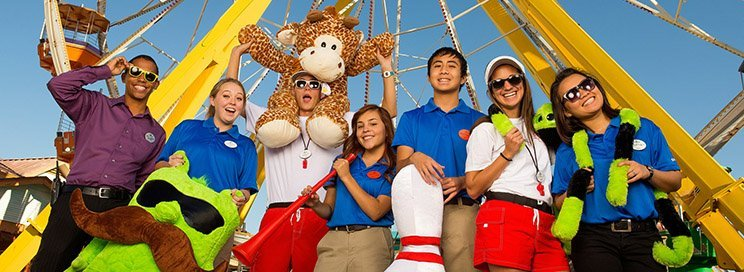 Six Flags Team Members