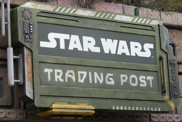 Downtown Disney Star Wars Trading Post