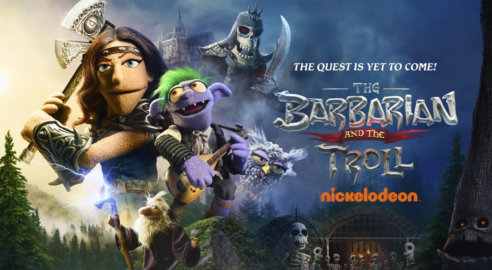 The Barbarian and the Troll, Nickelodeon
