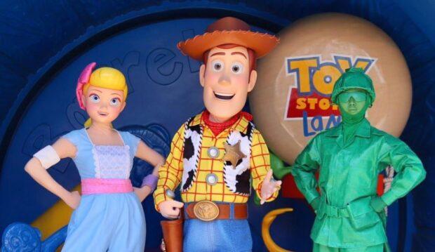Woody's new look