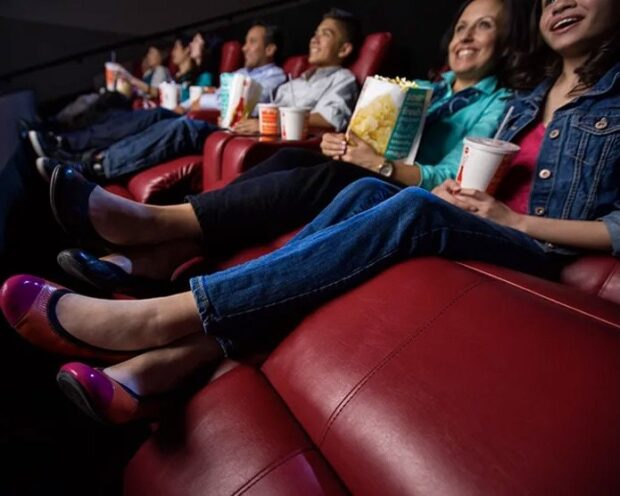 AMC Theatres reclining seats
