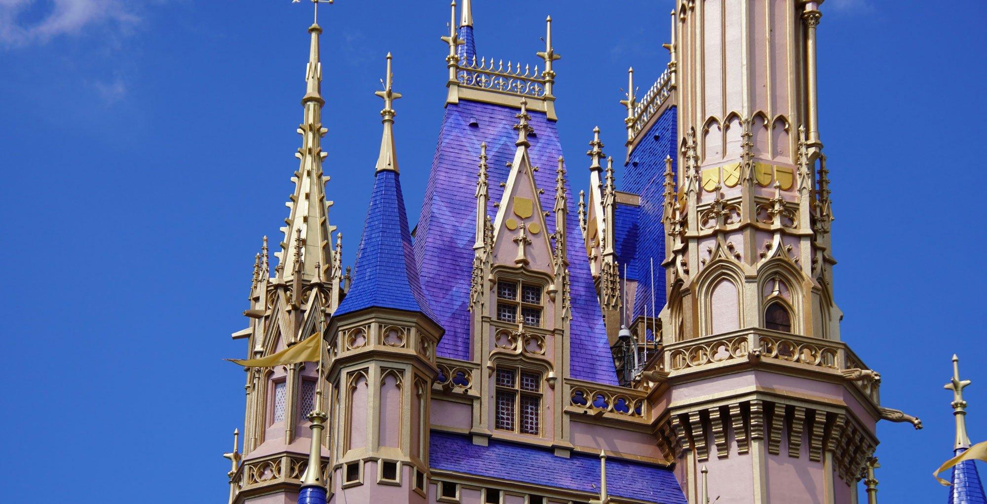 Cinderella Castle 50th Anniversary Paint Job Revamp