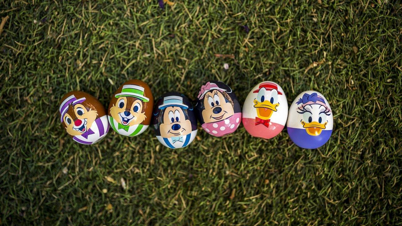 Eggstravaganza in Downtown Disney DIstrict at Disneyland